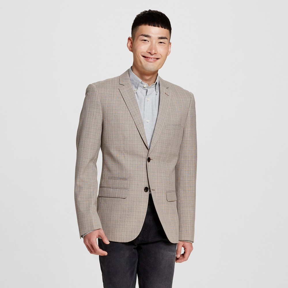 Men's Suit Coats L Desert Tan – WD-NY Black