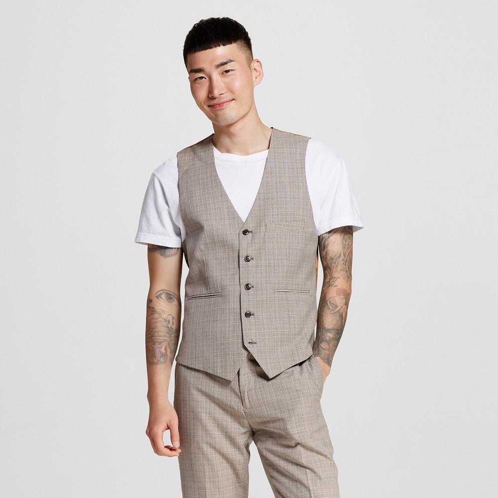 Men's Suit Vests L Desert Tan – WD-NY Black