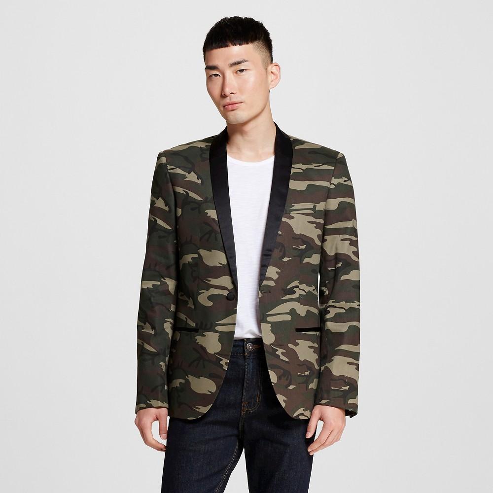 Men's Blazers M Camo 1- WD-NY Black, Camouflage