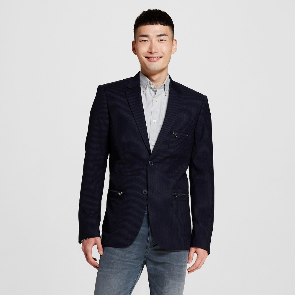 Men's Suit Coats L Classic Navy (Blue) – WD-NY Black