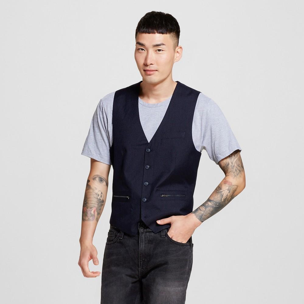 Men's Suit Vests XL Classic Navy (Blue) – WD-NY Black