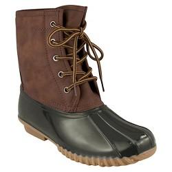 Women's Cover Girl  Duck Winter Boots