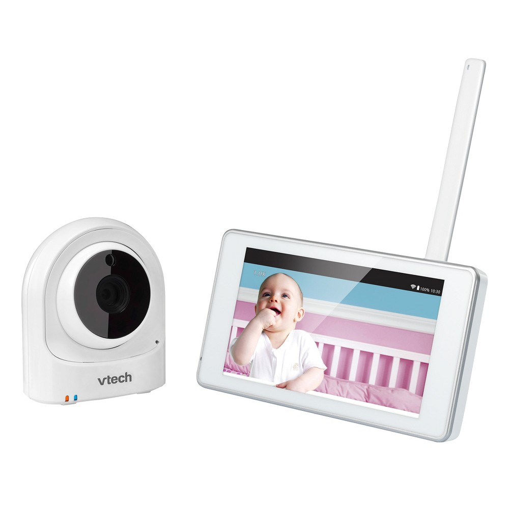 Vtech Wi-Fi HD 5 Touch Screen Video Baby Monitor with Rem...