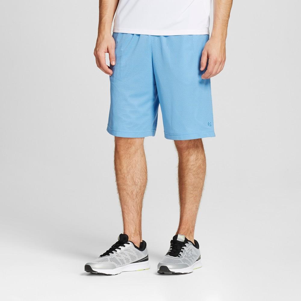 Mens Mesh Shorts - C9 Champion Light Blue L