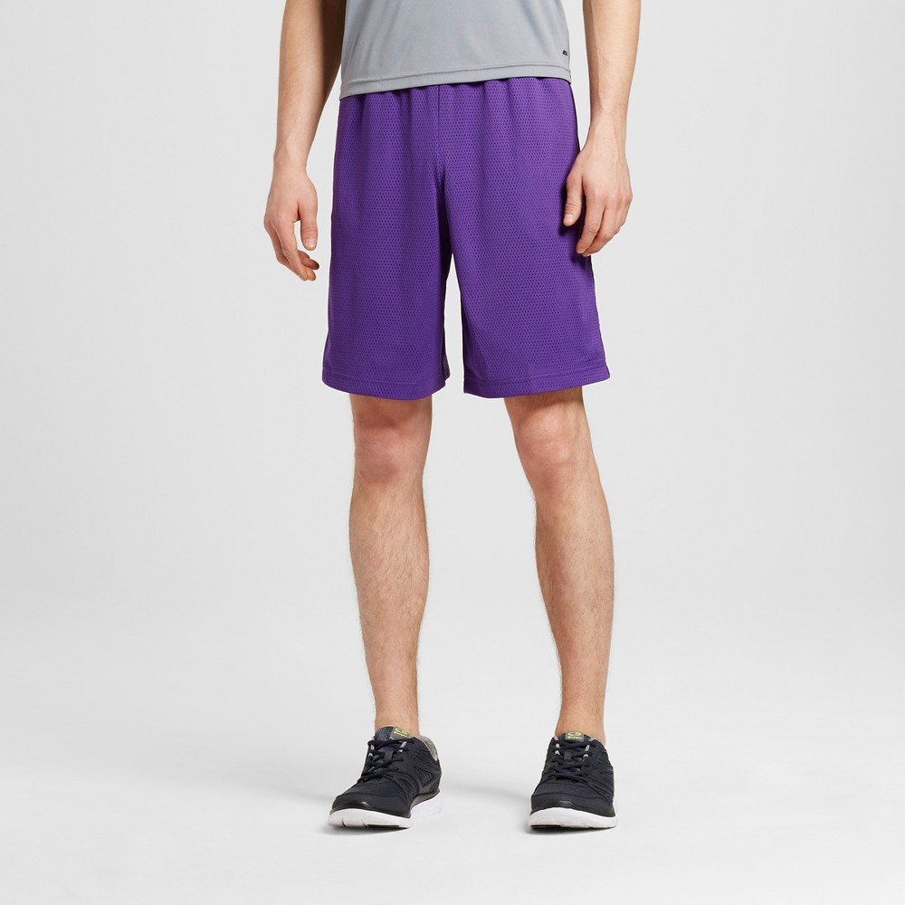 Mens Mesh Shorts - C9 Champion Purple M