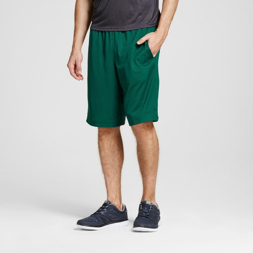 Mens Mesh Shorts - C9 Champion Salamander Green L