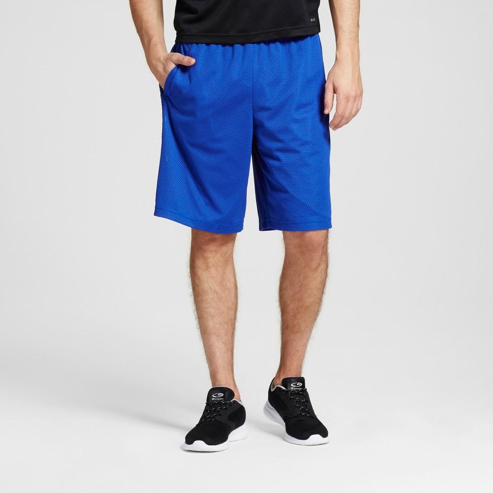 Men's Mesh Shorts - C9 Champion Omni Blue L