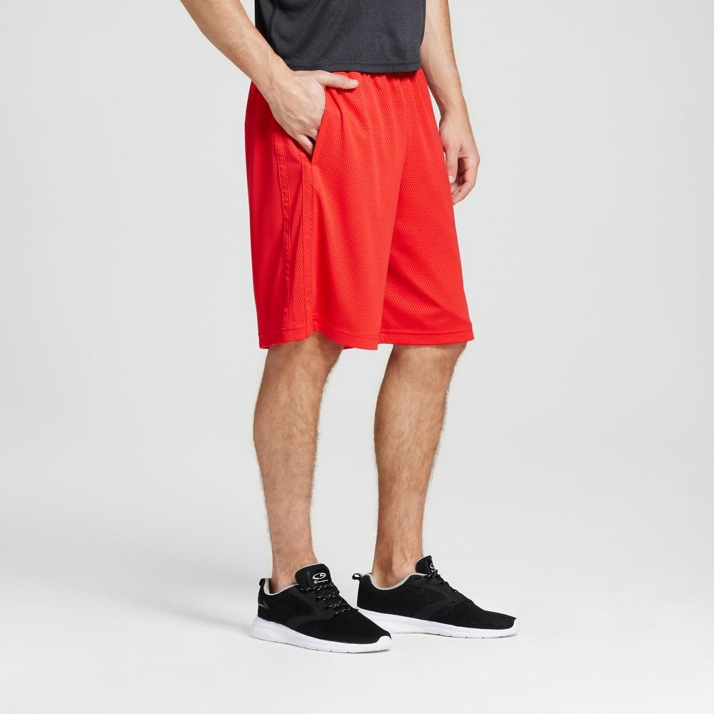 Mens Mesh Shorts - C9 Champion Scarlet Red XL