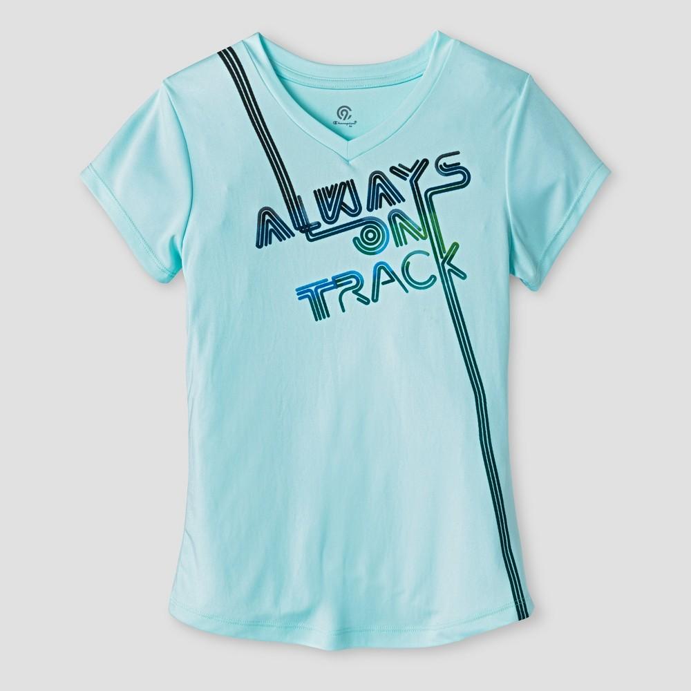 Girls Graphic Tech T-Shirt - C9 Champion Blue S