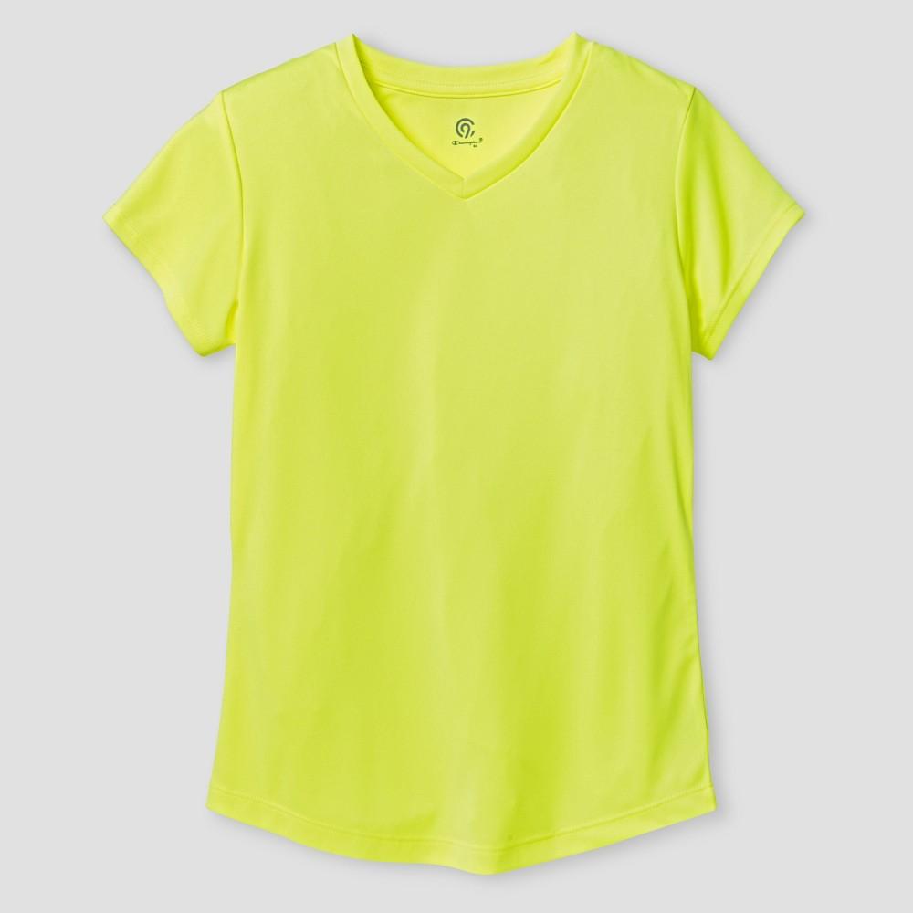 Girls' Tech T-Shirt - C9 Champion Yellow XS