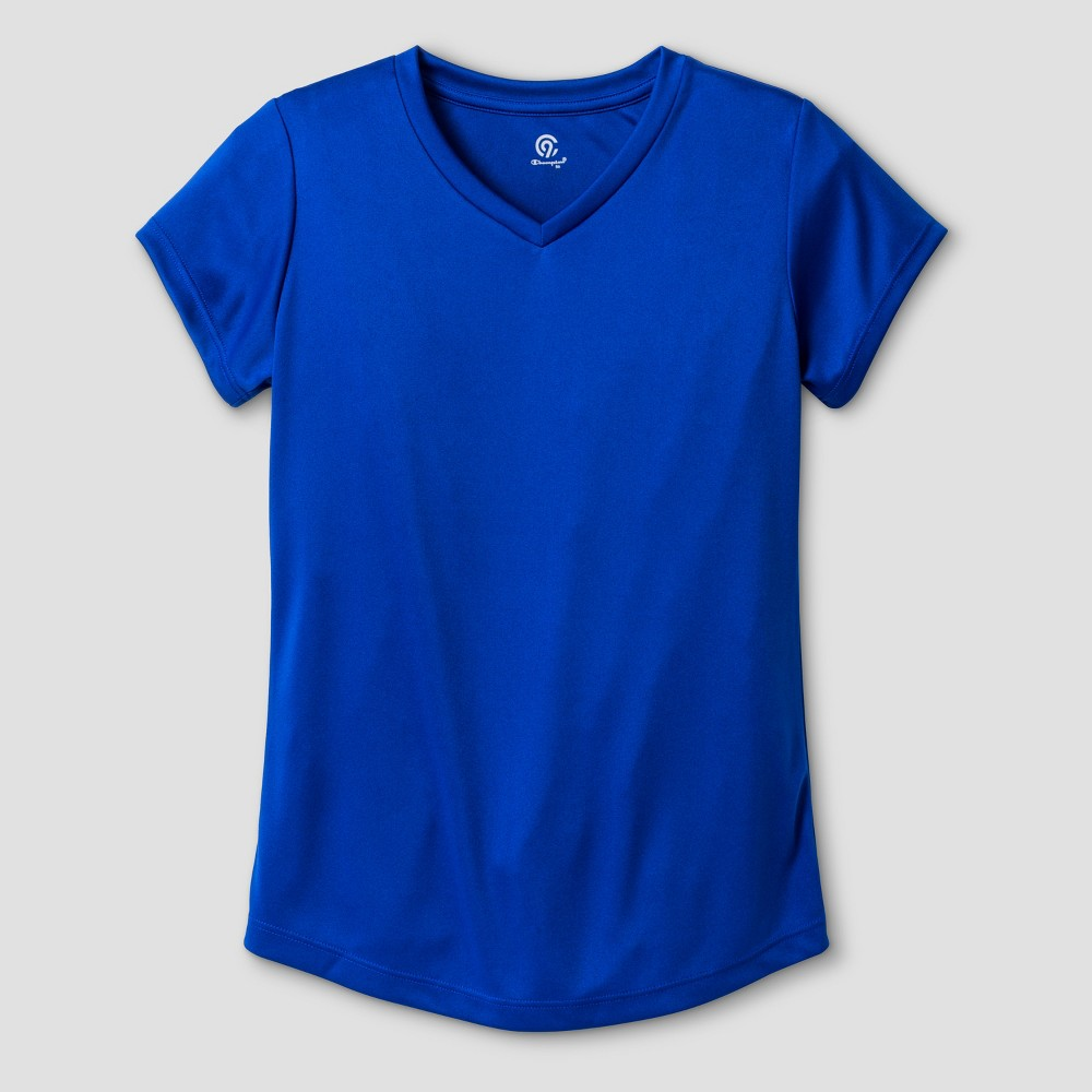 Girls Tech T-Shirt - C9 Champion Blue XS