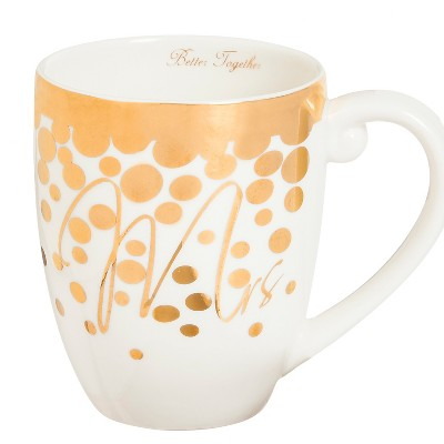 Mrs.  Ceramic Coffee Cup - 18oz.