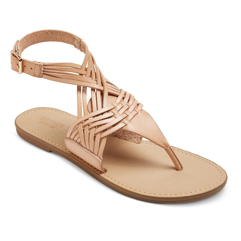 Women's Johanna Huarache Sandals - Mossimo Supply Co. Blush 5.5