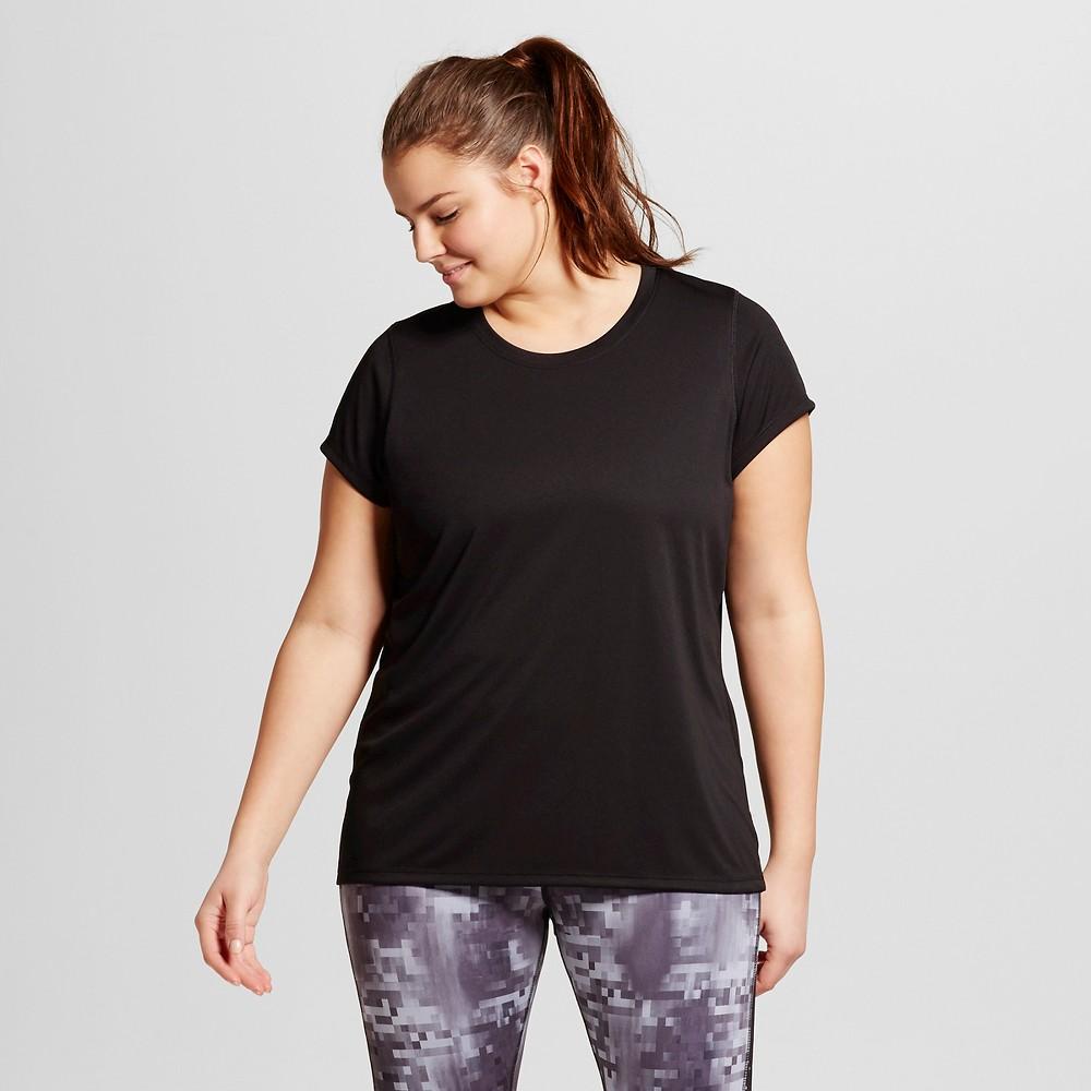 Women's Plus-Size Crew Neck Tech T-Shirt - C9 Champion Black 2X