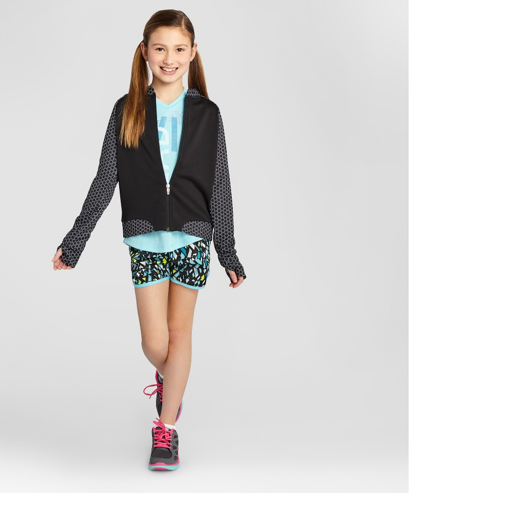 Activewear Track Jackets - C9 Champion Black S, Girl's