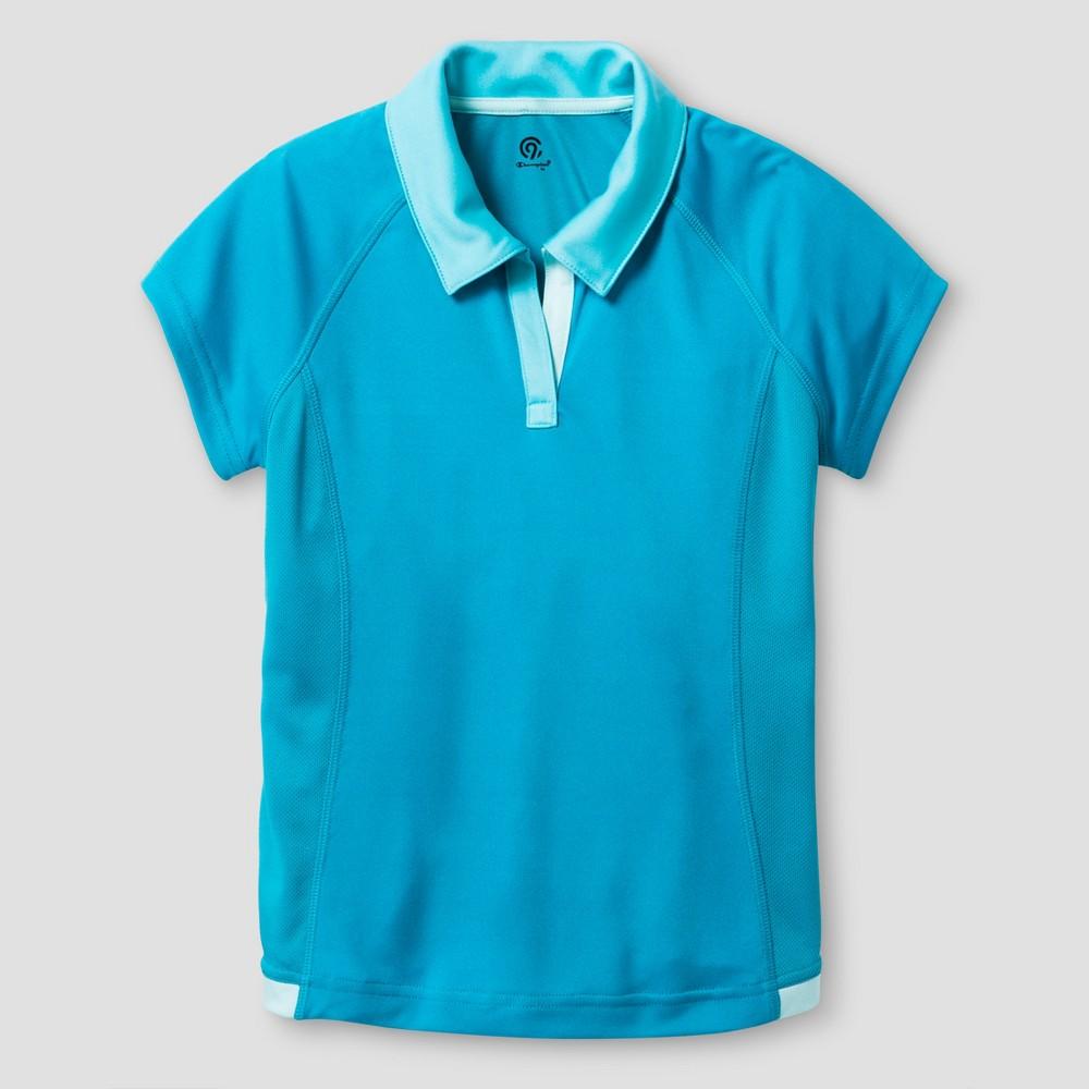 Girls Sport Polo - C9 Champion Turquoise XS