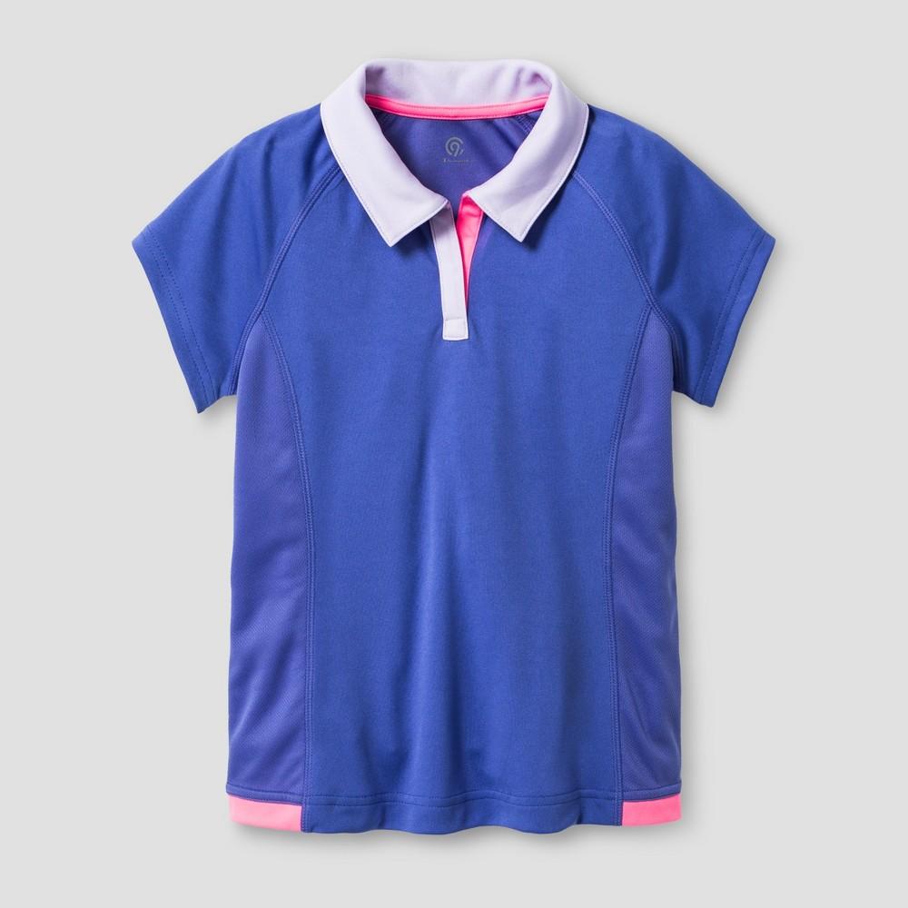 Girls Sport Polo - C9 Champion Lavender (Purple) S