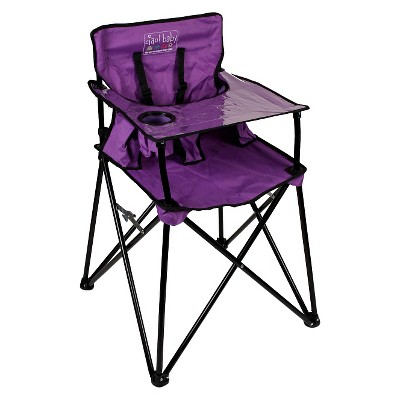 Ciao Baby Portable High Chair - Purple