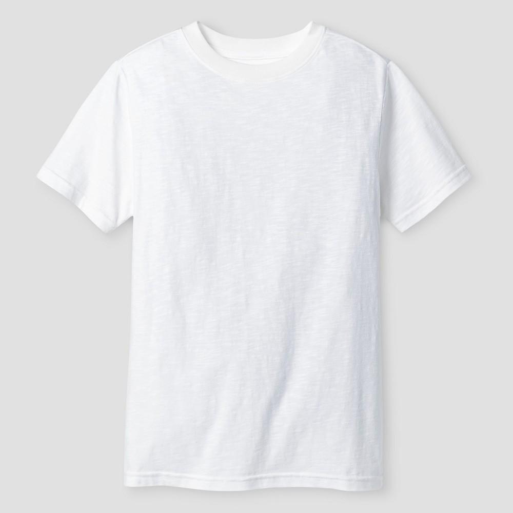 Boys Classic Slub T-Shirt - Cat & Jack White L
