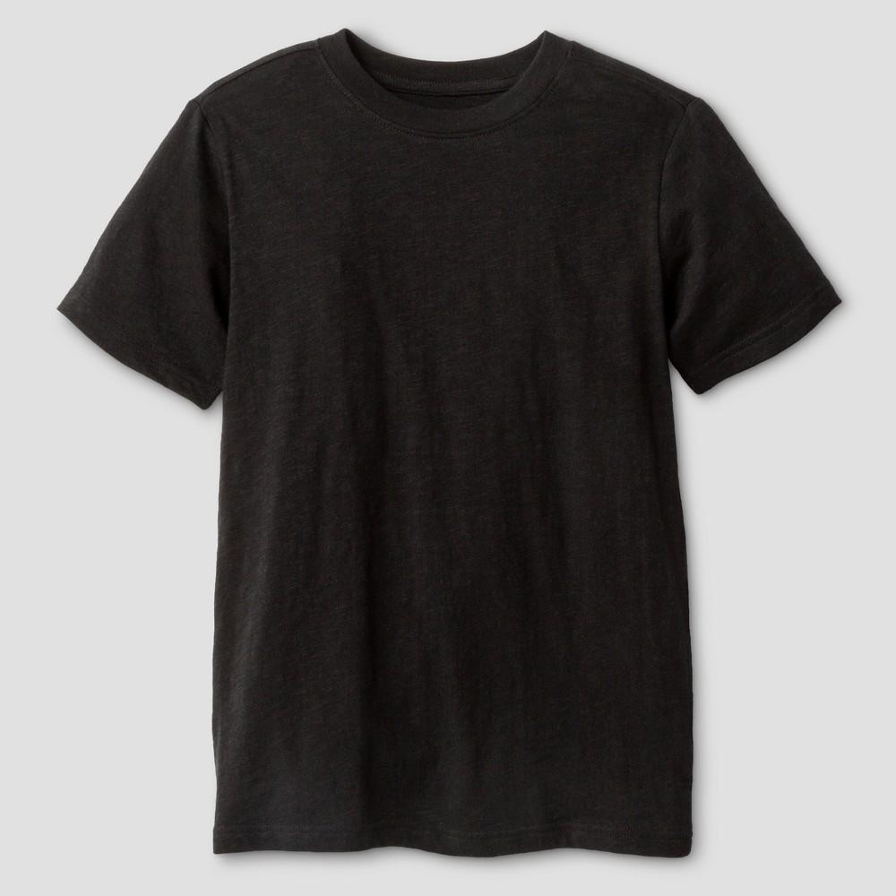 Boys Classic Slub T-Shirt - Cat & Jack Black S