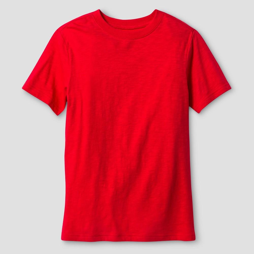 Boys Classic Slub T-Shirt - Cat & Jack Really Red XL