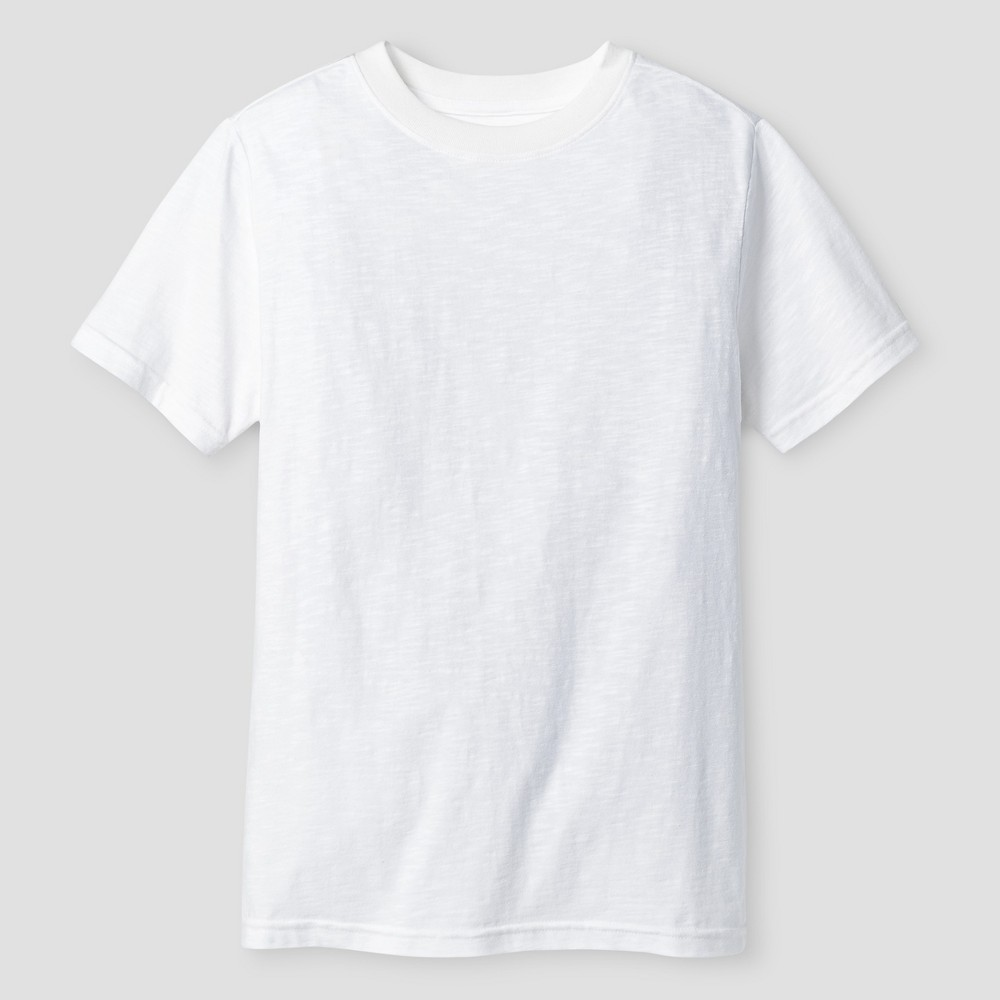 Boys Classic Slub T-Shirt - Cat & Jack White S