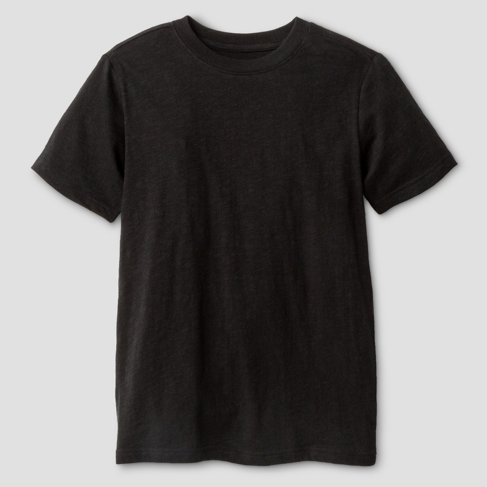 Boys Classic Slub T-Shirt - Cat & Jack Black Xxl