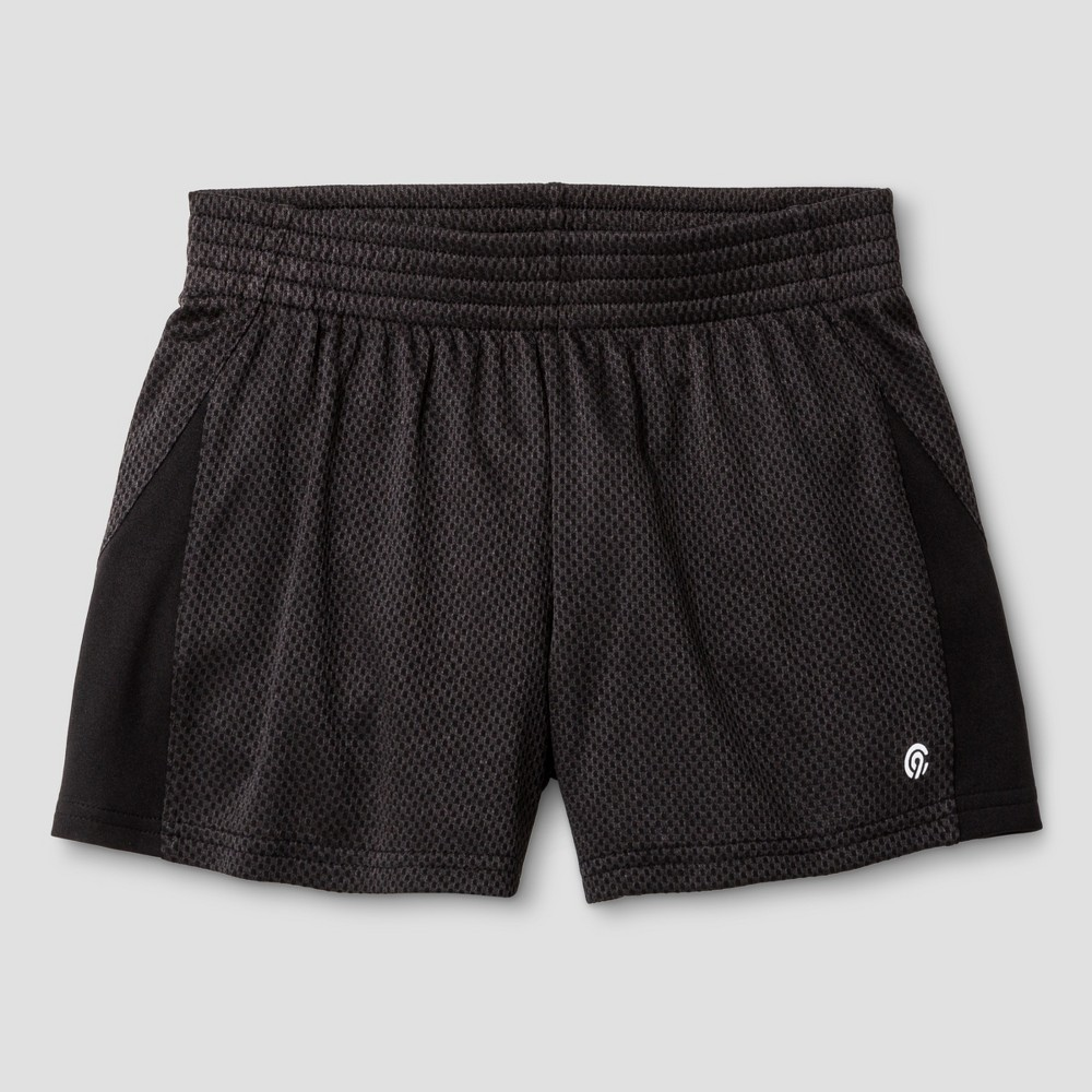 Girls' Knit Shorts Black L - C9 Champion