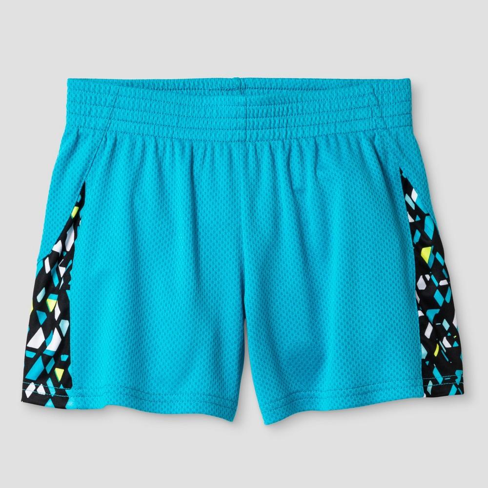 Girls Knit Shorts - C9 Champion Turquoise XS