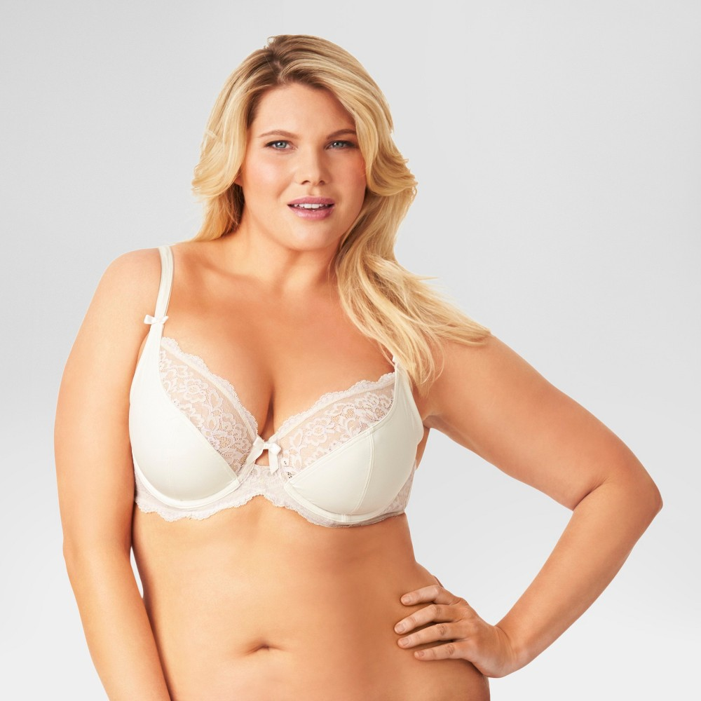 Kissed by Olga Womens Unlined Underwire Bra Butterscotch 40DD