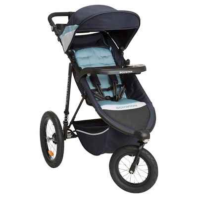Schwinn Interval Jogging Stroller - Stone Blue
