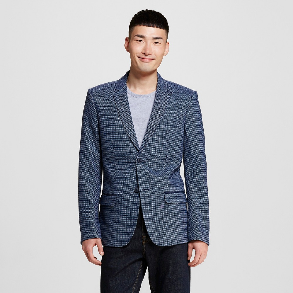 Men's Suit Coats S Adriatic Blue – WD-NY Black