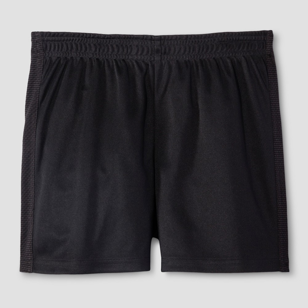 Girls' Training Shorts - C9 Champion Black M