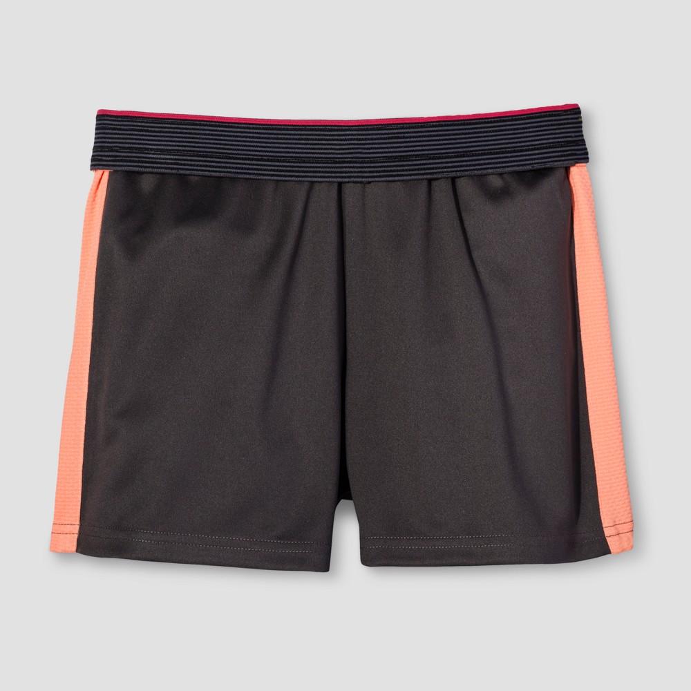 Girls' Training Shorts - C9 Champion Gray S, Grey