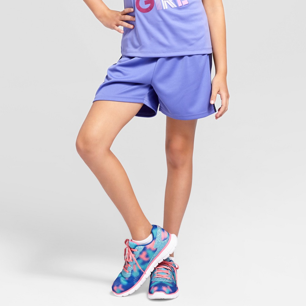 Girls Training Shorts - C9 Champion Lavender (Purple) XS
