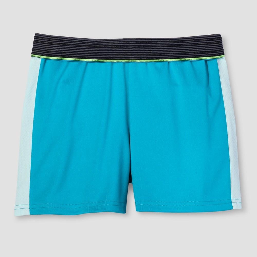 Girls Training Shorts - C9 Champion Turquoise S