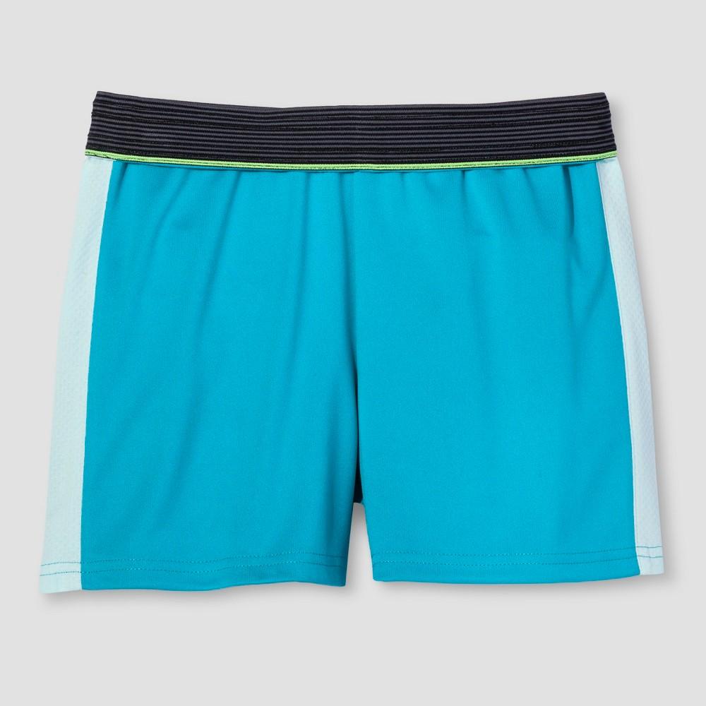 Girls Training Shorts - C9 Champion Turquoise M