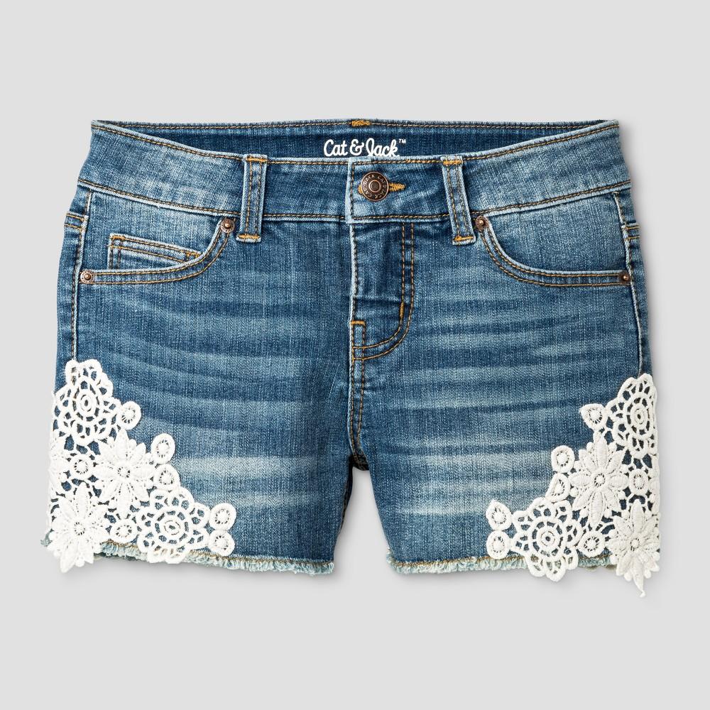 Girls Fashion Shorts - Cat & Jack Blue L