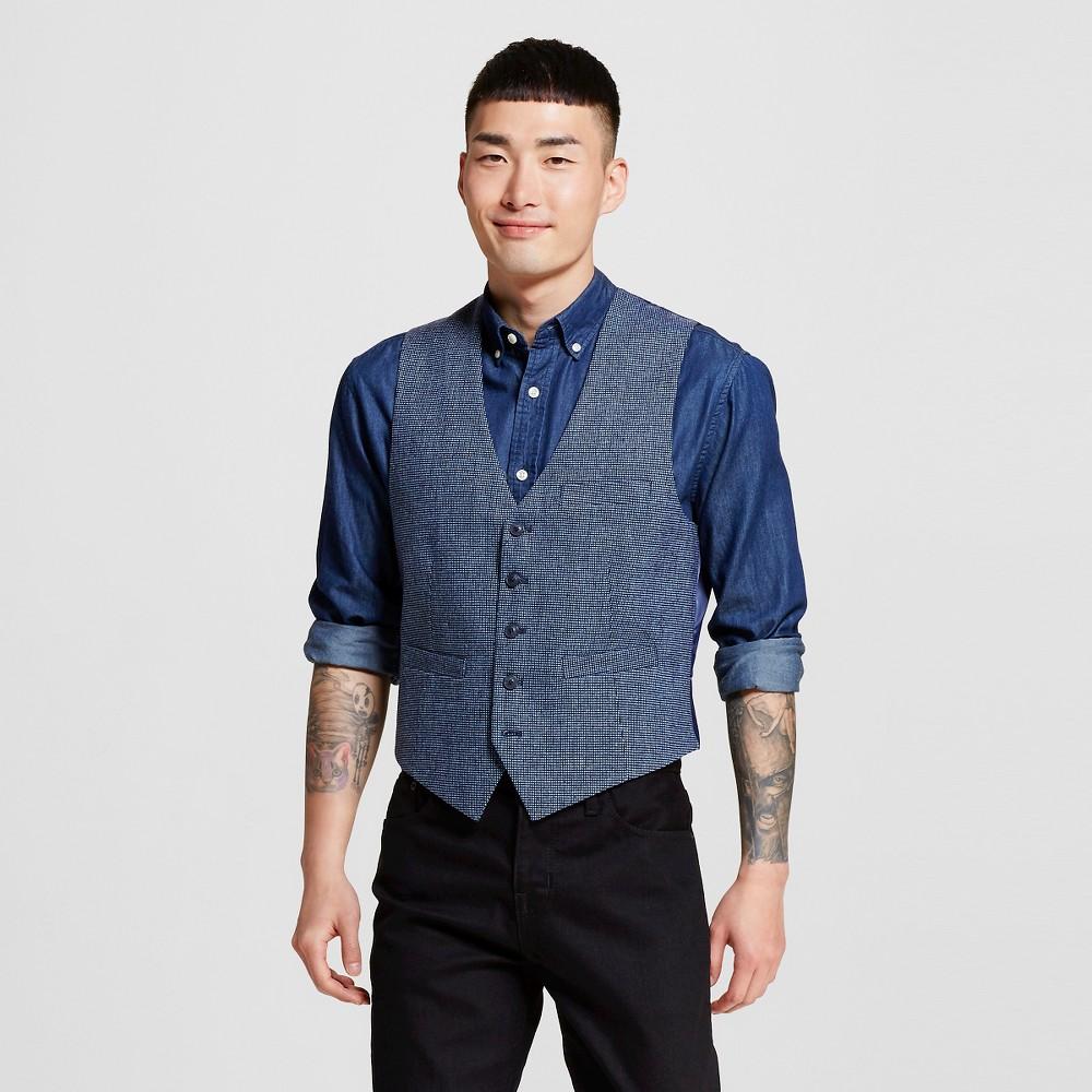 Men's Suit Vests L Adriatic Blue – WD-NY Black
