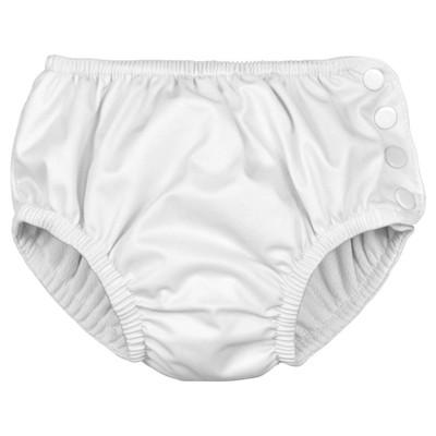 Toddler Reusable Swim Diaper - White 3T - i play.®