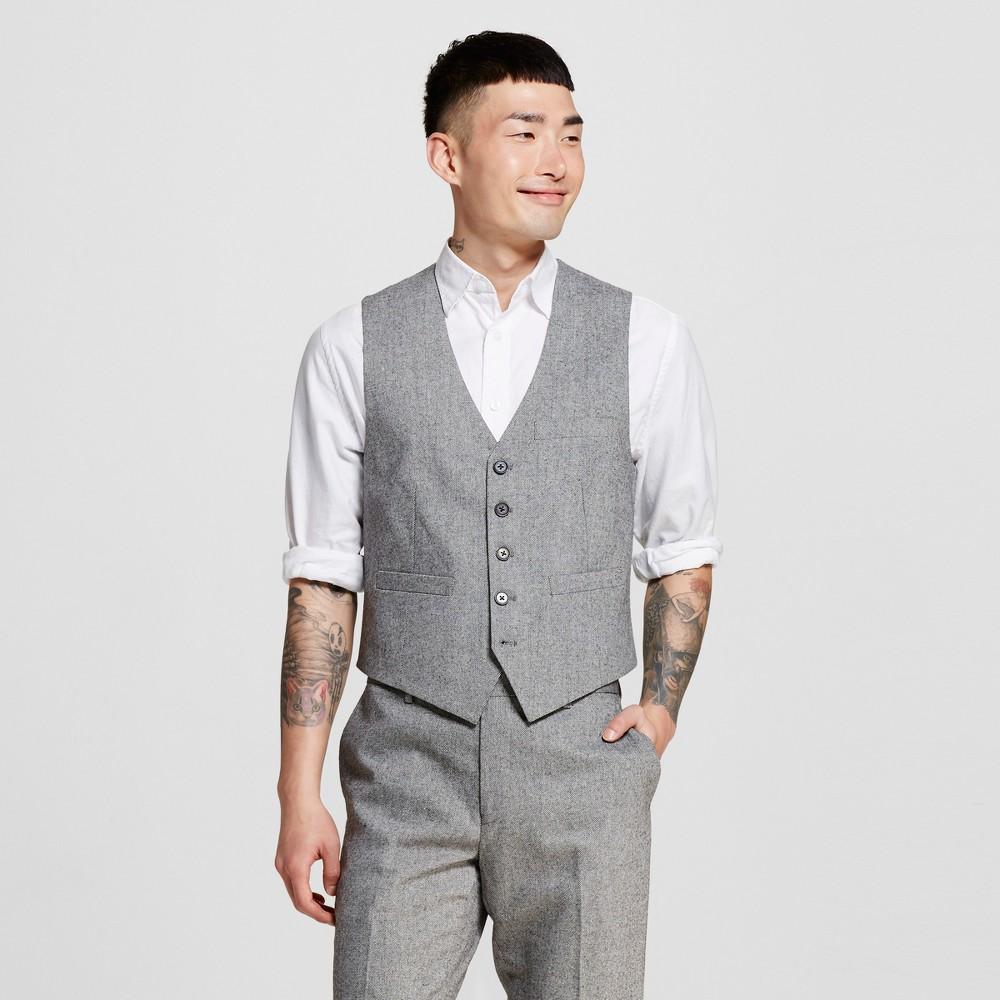 Men's Suit Vests L Oxford – WD-NY Black, Black & Ivory