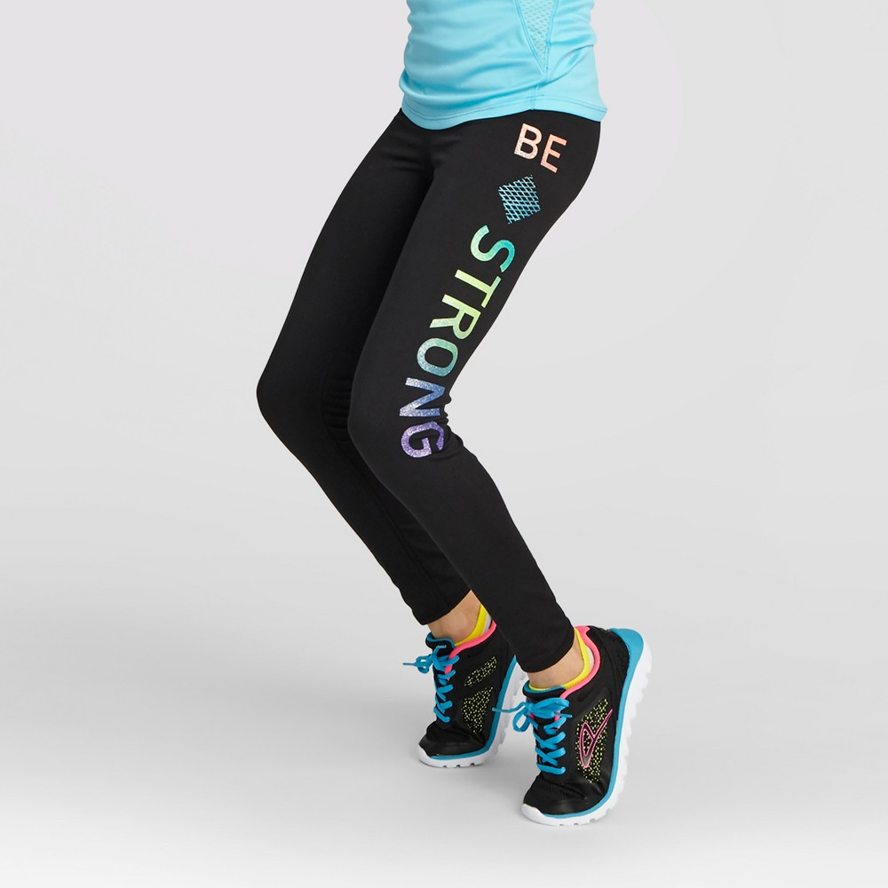 Activewear Leggings - C9 Champion Black S, Girl's