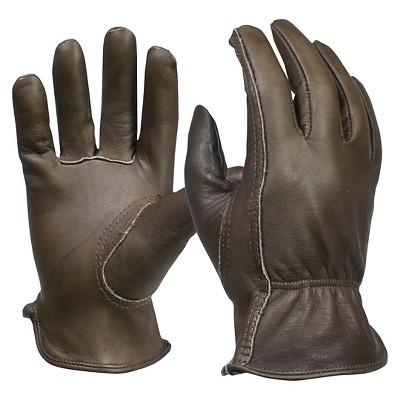Men's Full-Grain Leather Gardening Gloves, Brown - Smith & Hawken™
