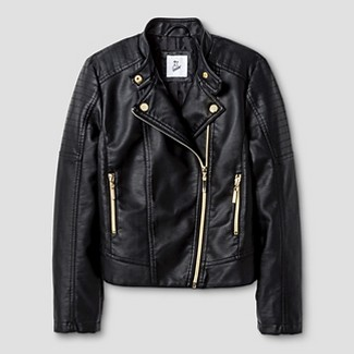 leather jacket for girls : Target