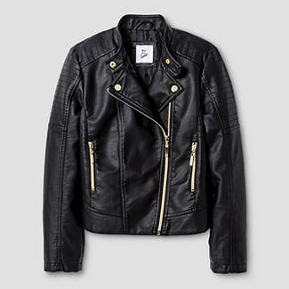 leather jacket for girls : Target