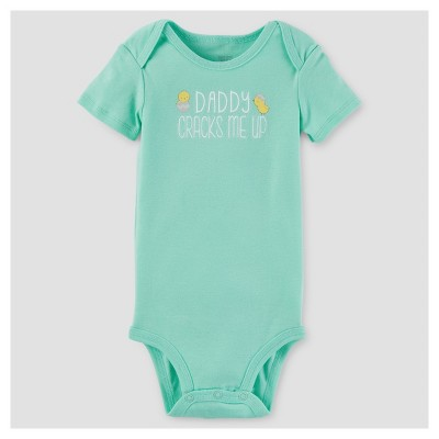 Baby Daddy Cracks Me Up Bodysuit - Just One You™ Made by Carter's® Mint NB