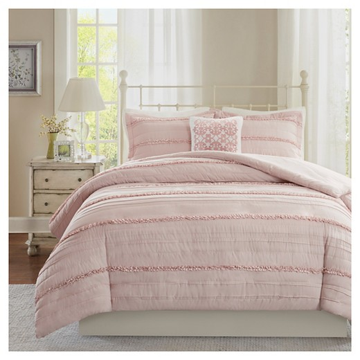 Alexis Ruffle 2 In 1 Duvet Cover Set 4pc Target