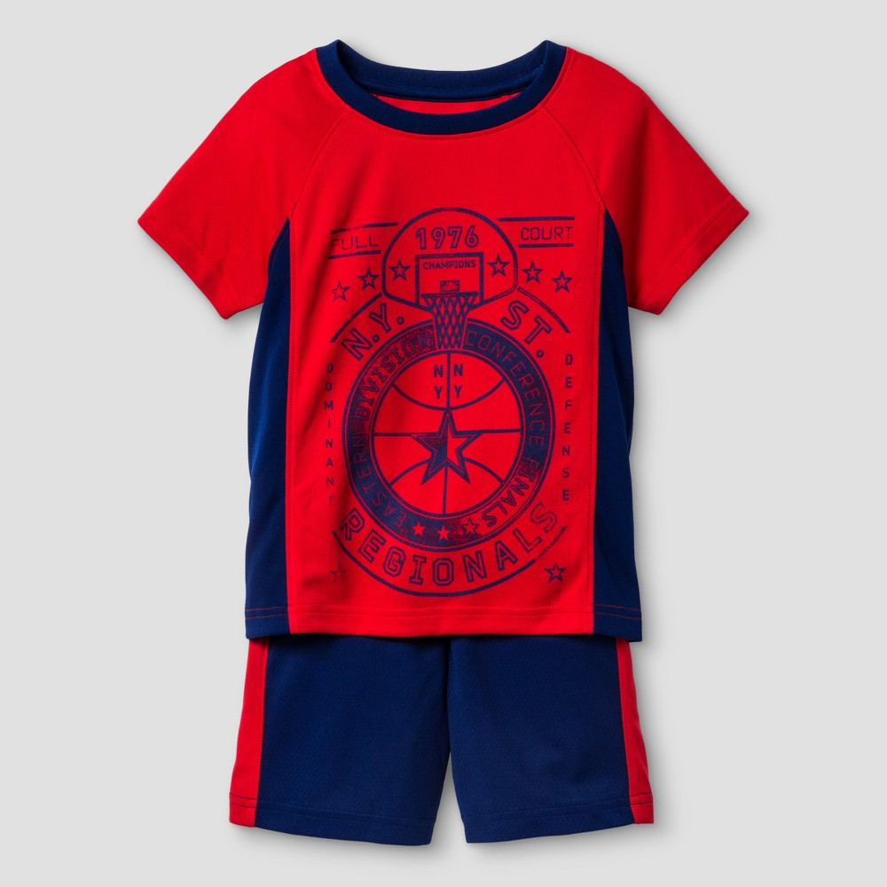 Baby Boys Top And Bottom Set Cat & Jack Really Red 18 M