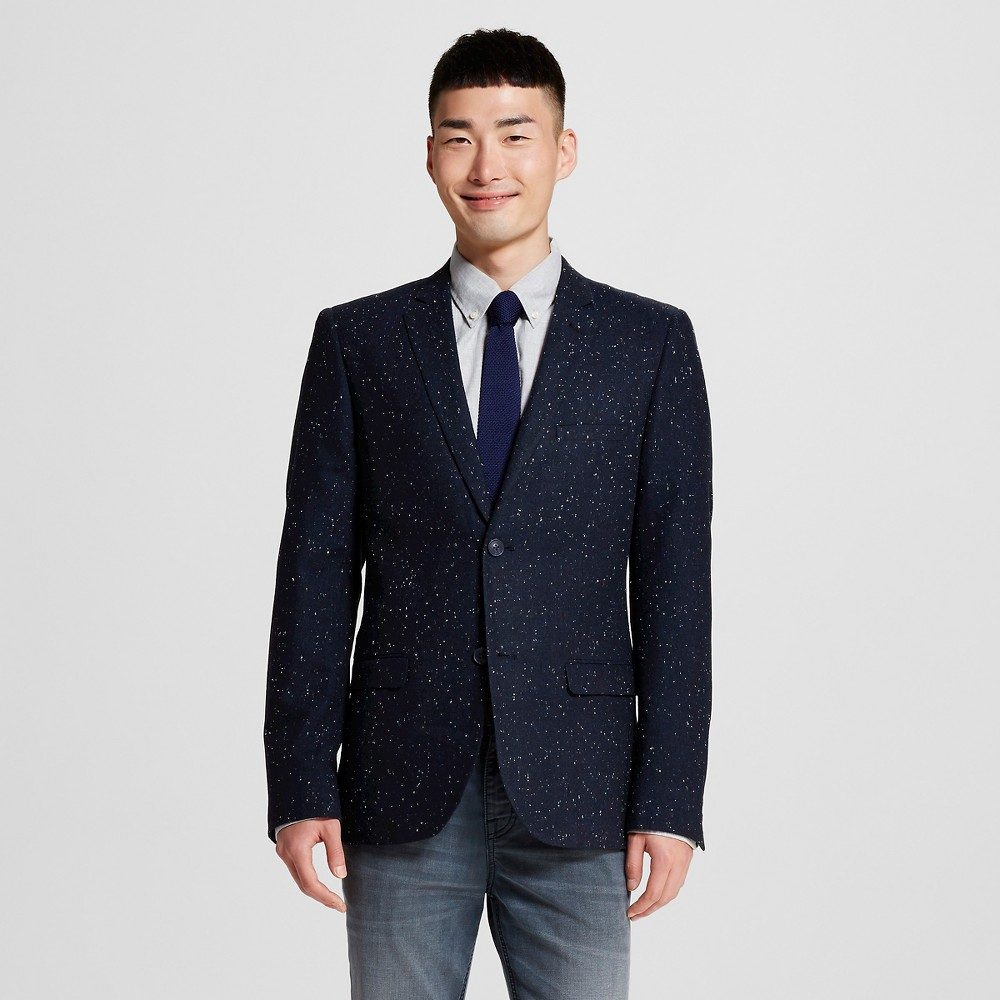Men's Suit Coats L London Blue – WD-NY Black