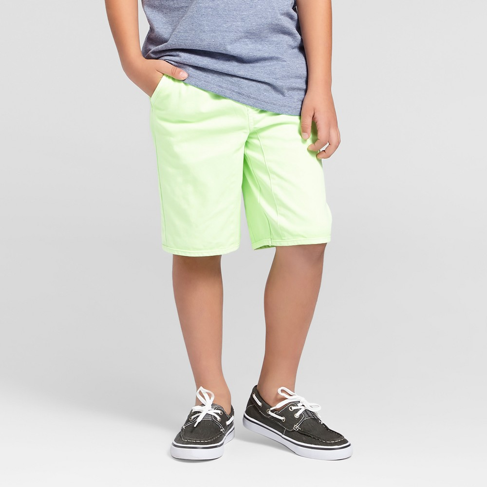 Boys Pull-On Jogger Shorts - Cat & Jack Smug Green Xxl